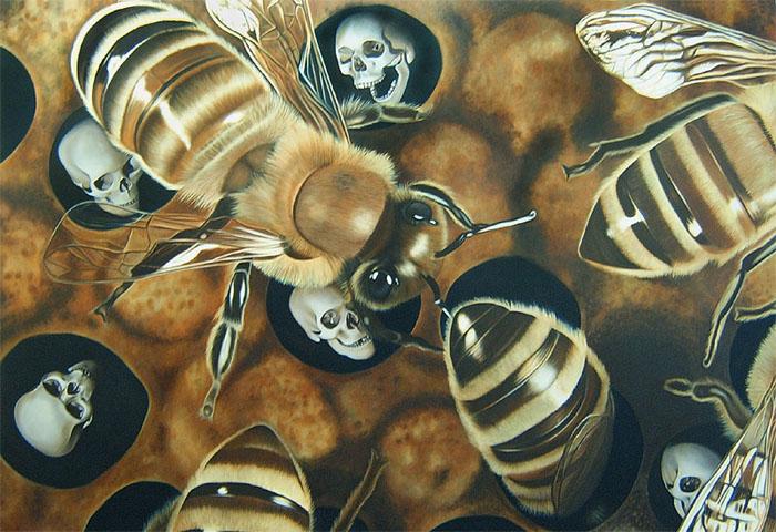 Ohne Titel (Bienen)