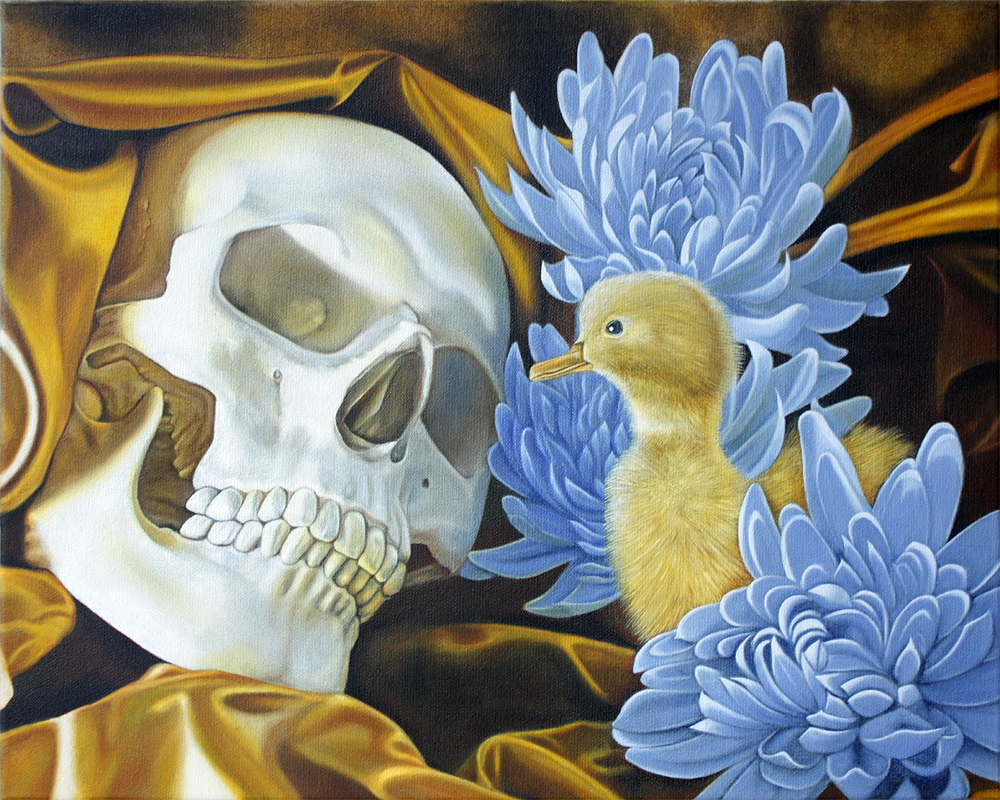 "Metaphysischer Fehler, Öl auf Lwd., 50 x 40 cm, 2013 Metaphysical Mistake, Oil on Cvs., 19,69"" x 15,75"", 2013"